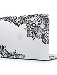 cheap -MacBook Case for Lace Printing Polycarbonate New MacBook Pro 15-inch New MacBook Pro 13-inch Macbook Pro 15-inch MacBook Air 13-inch