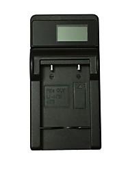 ismartdigi li40b lcd usb appareil photo mobile chargeur de batterie pour olympus 40b 42b nikon el10 - noir