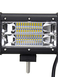 cheap -5 Inch 72W Two Rows of LED Light Bar Lights Work Driving Modified Off-Road Vehicle Lights Roof Lights