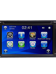 Rungrace 6.2'' touch screen 2DIN Car Multimedia System with DVD/Radio/Bluetooth/Steering Wheel Contol RL-257DNN07