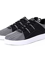 economico -Da uomo Scarpe PU (Poliuretano) Primavera Autunno Comoda Sneakers Lacci Per Casual Nero Grigio White/Blue
