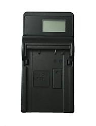 caricabatteria lcd usb lc8 lc8 per canon lp-e8 700d 650d 600d 550d - nero