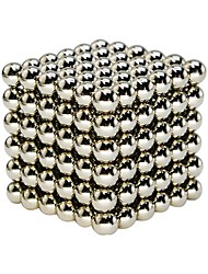 cheap -Magnet Toys Super Strong Rare-Earth Magnets Magnetic Blocks Magnetic Balls Stress Relievers 64 Pieces 6mm Toys Classic Office Desk Toys