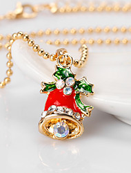 Women's Pendant Necklaces Alloy Adorable Chrismas Jewelry For Daily Christmas