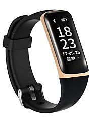 cheap -0.96 Inch OLED Screen Men's Woman Smart Bracelet Water Proof Long Standby Calories Burned Pedometers Heart Rate Monitor for Ios Android Mobile