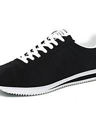 cheap -Men's Shoes Comfort Sneakers Running Shoes for Casual White Black