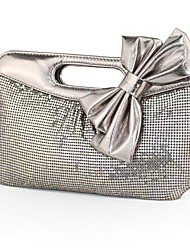 cheap -Women's Bags PU Evening Bag Sashes / Ribbons Red / Gray