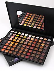 abordables -88 colores Sombras de Ojos / Polvos Mujer / Lady / Ojo Maquillaje de Diario / Maquillaje de Halloween / Maquillaje de Fiesta Maquillaje Cosmético / Mate