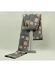 Men Imitation Cashmere Rectangle Print Spring/Fall Winter