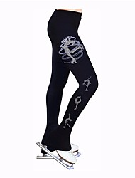 cheap -Figure Skating Pants Women's Ice Skating Leggings / Tracksuit Stretchy Skating Wear Heart Ice Skating / Figure Skating / Winter Sports