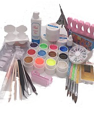 8 pcs ongles kit ongles décoration type style nail art bricolage