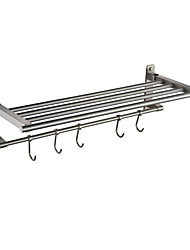 cheap -Bathroom Shelf Contemporary Stainless Steel Wall Mounted