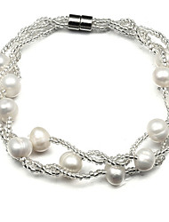 Women's Bracelet Strand Bracelet Pearl Fashion Adjustable Pearl Jewelry For Party Daily