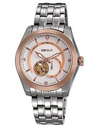 WeiQin Pánské Hodinky k šatům Módní hodinky mechanické hodinky Automatické natahování Nerez Kapela