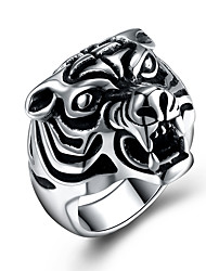 Women's Knuckle Ring Hip-Hop Personalized Stainless Steel Titanium Steel Geometric Irregular Jewelry For Halloween Street