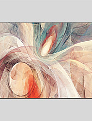 cheap -Hand-Painted Abstract Horizontal Panoramic, Abstract Canvas Oil Painting Home Decoration One Panel
