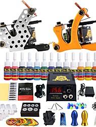 starter tattoo kits LED power supply 5 x tattoo needle RL 3 5 x tattoo needle RL 5 5 x tattoo needle RS 5 5 x tattoo needle RS 3 Complete