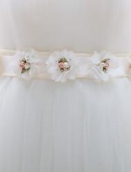 cheap -Women's Rhinestone Skinny Belt,Irregular Style Solid Pure Color Chiffon