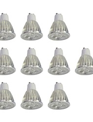 cheap -10pcs 5W GU10 LED Spotlight 10 leds High Power LED Dimmable White 400lm 6000K 110-120V