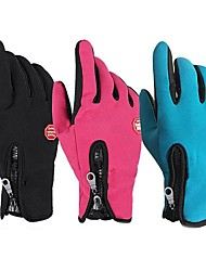Sports Gloves Bike Gloves / Cycling Gloves Touch Gloves Multifunction Full-finger Gloves Lycra Spandex Mountain Cycling Road Cycling