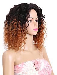 cheap -Human Hair Brazilian Ombre Hair Weaves Loose Wave Hair Extensions 8 Pieces Black/Burgundy Black/Medium Auburn Black/Strawberry Blonde