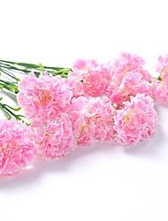 billige -5 Afdeling Polyester Pæoner Bordblomst Kunstige blomster