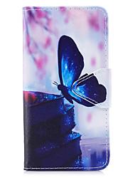 preiswerte -Hülle Für Samsung Galaxy J5 (2017) J3 (2017) Kreditkartenfächer Geldbeutel mit Halterung Flipbare Hülle Muster Ganzkörper-Gehäuse
