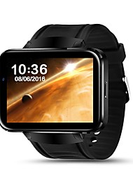 cheap -Men's Woman Bluetooth Smart Watch 2.2 inch Android 4.4 OS 3G Smartwatch Phone MTK6572 Dual Core 1.2GHz 4GB ROM Camera WCDMA GPS