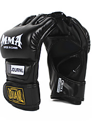 cheap -Boxing Bag Gloves Boxing Training Gloves for Boxing Fingerless Gloves Wearable PU