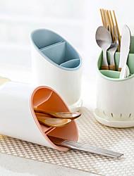 1pc scaletta da cucina scroffatore bacchette gabbia organizzatore di immagazzinaggio asciugatrice posate supporto colore casuale