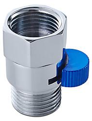 válvula de pressão de chuveiro válvula de controle de água de latão sólido válvula de fechamento para pulverizador de bidé ou chuveiro