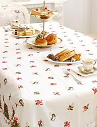 Недорогие -1 шт текстильная рождественская скатерть рождественские украшения посуда