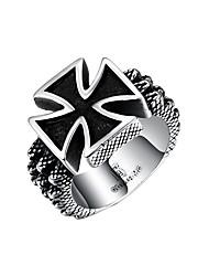 preiswerte -Damen Knöchel-Ring Synthetischer Rubin Personalisiert Hip-Hop Edelstahl Titanstahl Geometrische Form Irregulär Modeschmuck Halloween