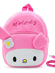 cheap -Kids Bags Fur Kids' Bag Zipper for Outdoor Winter Fall Fuchsia