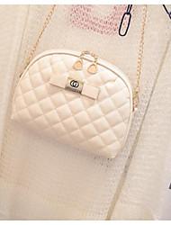 preiswerte -Damen Taschen PU Schultertasche Reißverschluss für Normal Ganzjährig Gold Weiß Schwarz Silber