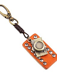 cheap -Keychain Jewelry Orange Irregular Leather Alloy Cool Gothic Going out School Men's