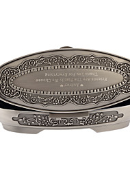 cheap -Oval Tins Favor Holder with Favor Boxes - 1set