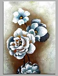 rosa 100% pintados a mão pinturas a óleo contemporâneas obras de arte de parede moderna para decoração de sala
