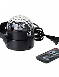 U'King LED Stage Light / Spot Light Sound-Activated Remote Control Music-Activated 6 for For Home Club Portable
