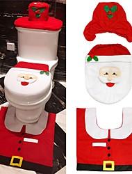 baratos -Conjuntos Tema Clássico Férias Tema Fadas Pessoas Moda Poliéster/Algodão Decoração de Natal