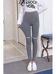 cheap -Women's Sporty Legging - Letter, Print High Waist / Sporty Look