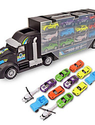 Недорогие -Игрушечные машинки Playsets автомобиля Игрушечные самолеты Гоночная машинка Самолёт Веселье Мальчики Детские Подарок
