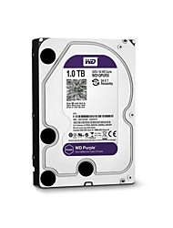 cheap -WD® hard drives WD10PURX 1TB(IntelliPower 64MB Cache) purple drive 3.5-inch HDD surveillance for CCTV NVR for Security Systems 18*13cm