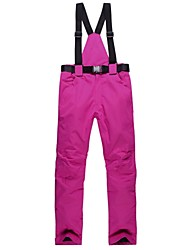 cheap -Women's Ski / Snow Pants Warm Waterproof Windproof Wearable Breathability Skiing Skiing Camping / Hiking Outdoor Exercise Snow sports