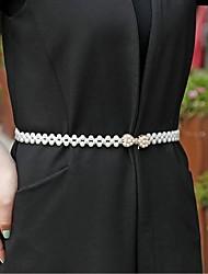 cheap -Bead Wedding / Anniversary Sash With Rhinestone Women's Sashes