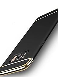 preiswerte -Hülle Für Samsung Galaxy S8 Plus S8 Stoßresistent Ultra dünn Rückseitenabdeckung Volltonfarbe Hart PC für S8 S8 Plus S7 edge S7 S6 edge S6