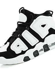Недорогие -Жен. Обувь Резина Весна / Осень Удобная обувь Спортивная обувь Для баскетбола На толстом каблуке Круглый носок Красный / Черно-белый /