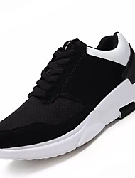 cheap -Men's Shoes Tulle Summer Fall Comfort Athletic Shoes Running Shoes for Athletic Casual Black/White Black/Red Black/Blue