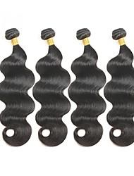 cheap -Brazilian Remy Active Body Wave Human Hair Weaves 4pcs