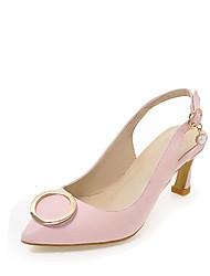 Femme Sabots & Mules club de Chaussures Similicuir Printemps Eté Automne Décontracté Habillé Soirée & Evénement club de Chaussures Boucle